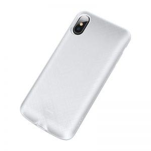 Baseus kryt s batériou 4000mAh pre Apple iPhone XS White