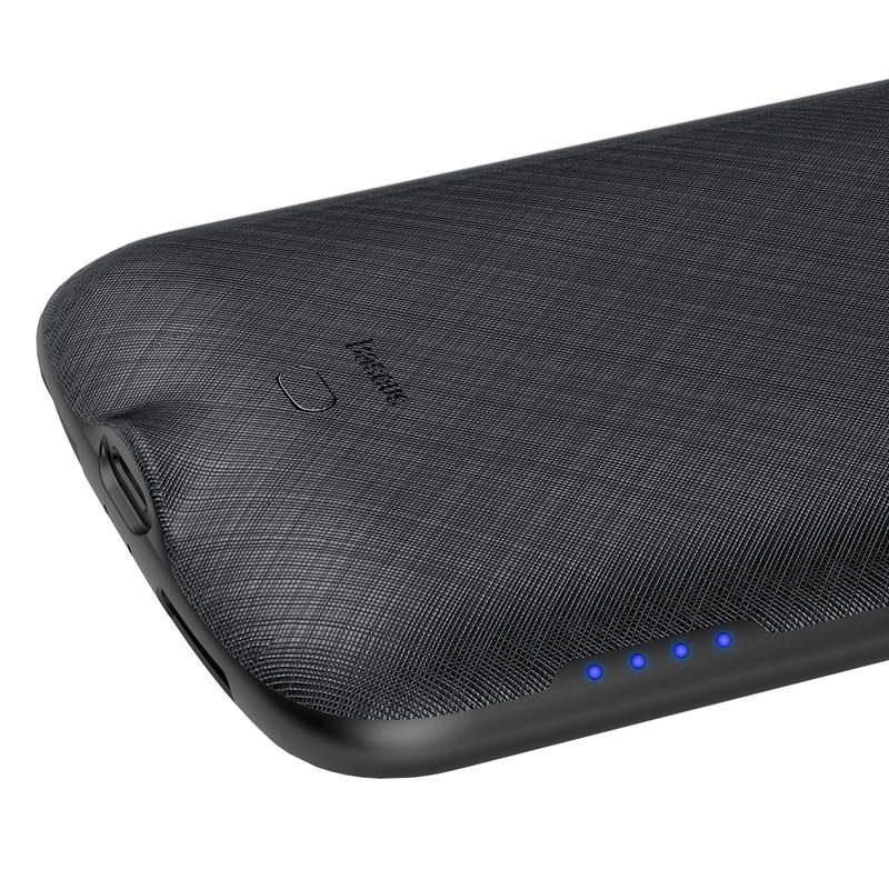 Baseus kryt s batériou 4000mAh pre Apple iPhone XS Black