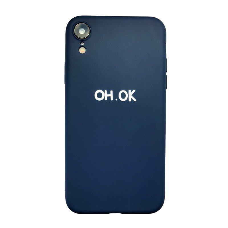 Silikónový kryt na iPhone XR Oh Ok