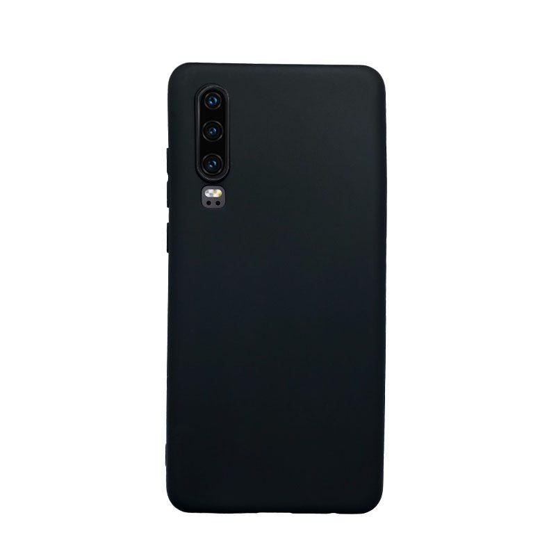 Silikónový kryt na Huawei P30 čierny