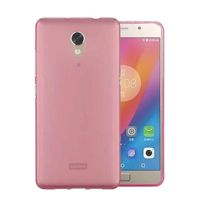Lenovo Vibe P2 silikónový kryt Clear Pink 1