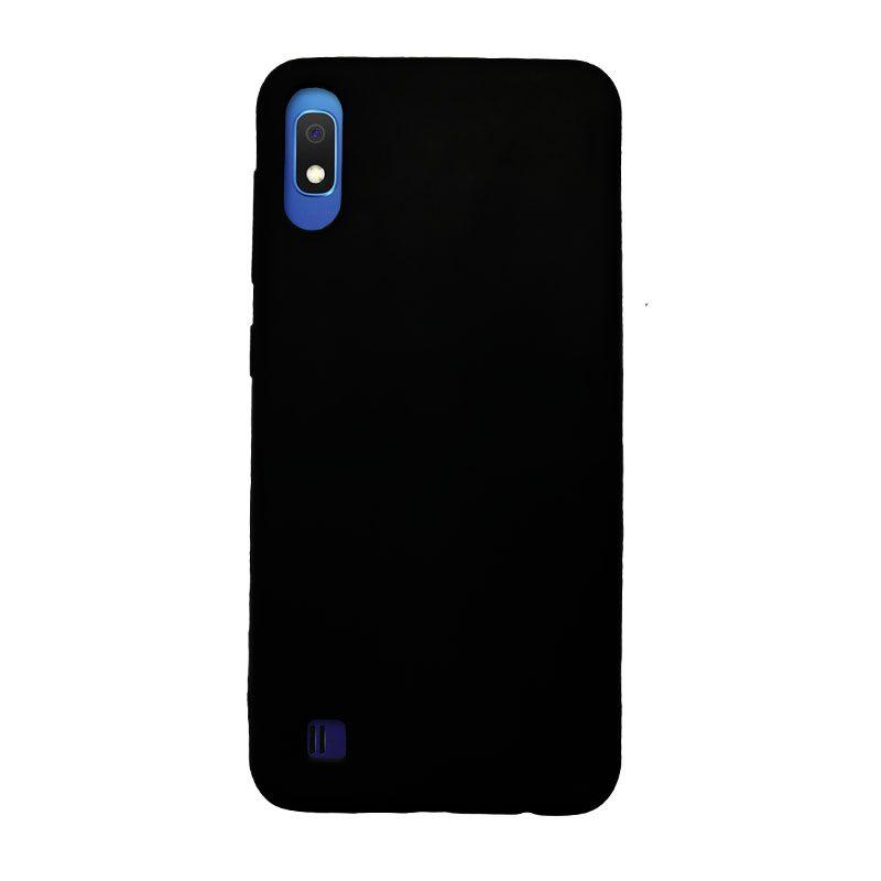 Samsung Galaxy A10 silikónový kryt čierny 1