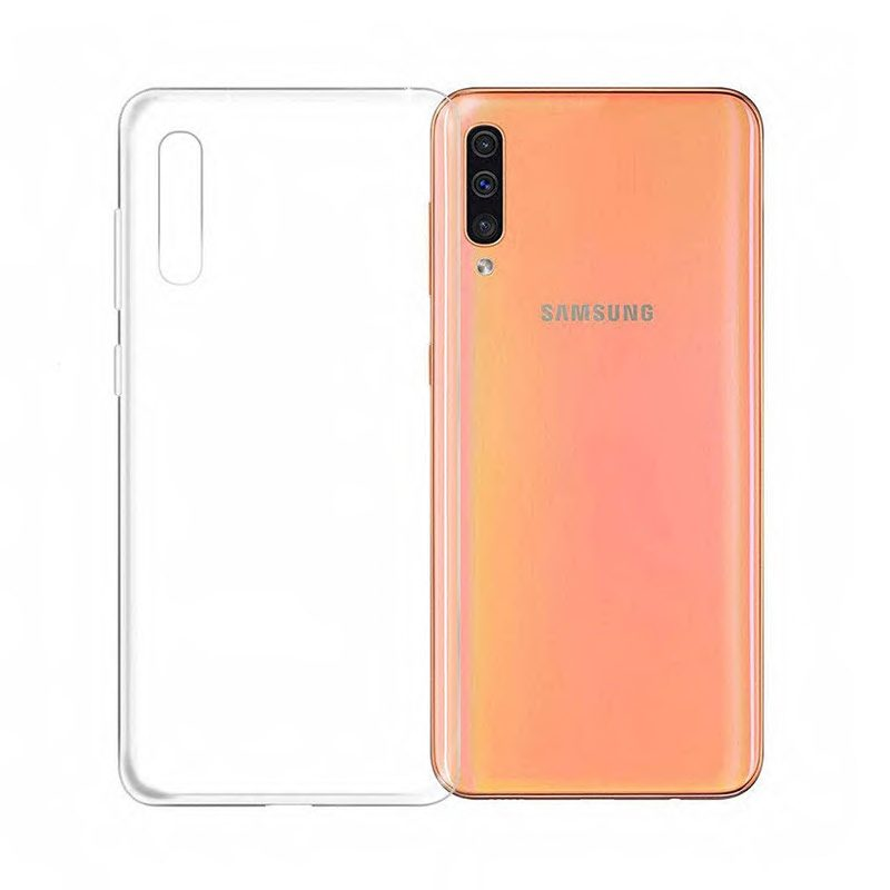 Silikónový kryt na Samsung Galaxy A50 Clear Case