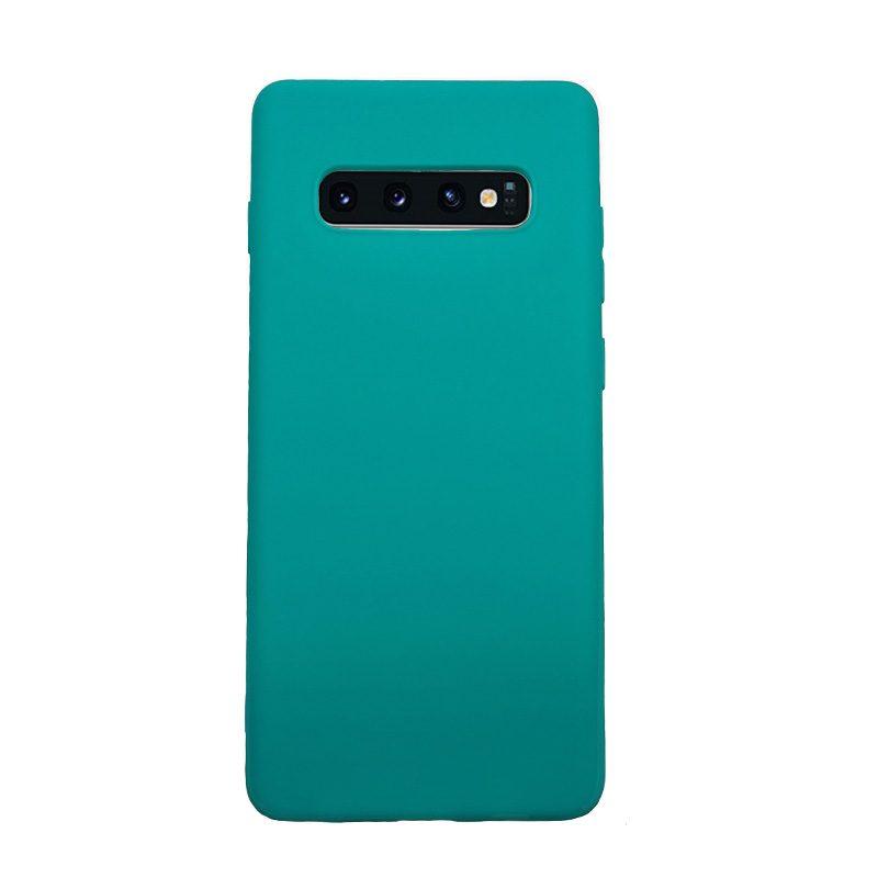 Silikónový kryt na Samsung Galaxy S10 Plus tyrkysový