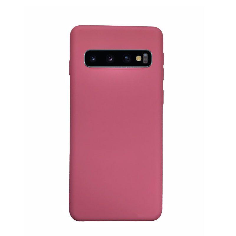 Silikónový kryt na Samsung Galaxy S10 ružový