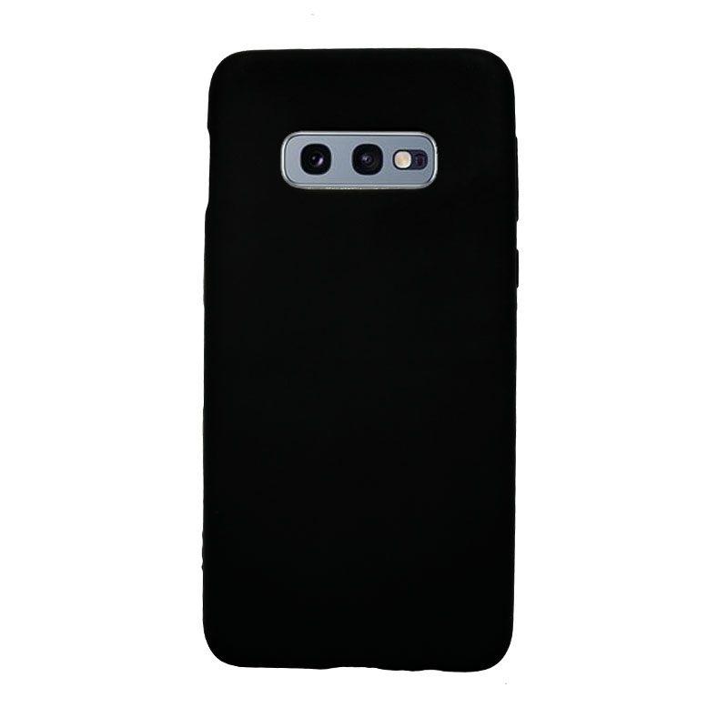 Silikónový kryt na Samsung Galaxy S10e čierny