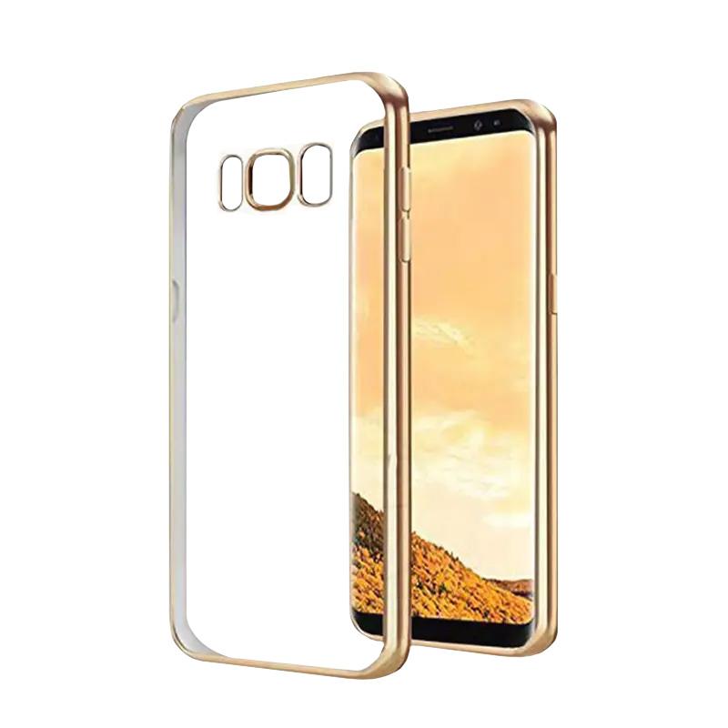 Silikónový kryt na Samsung Galaxy S8+ Gold