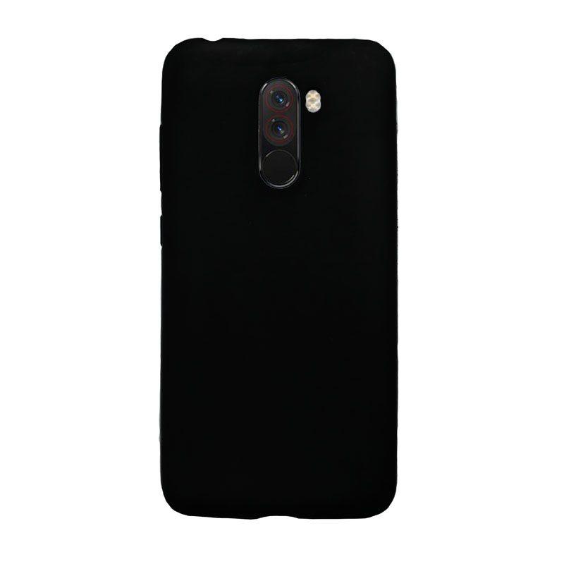 Xiaomi Pocophone F1 silikónový kryt čierny 1