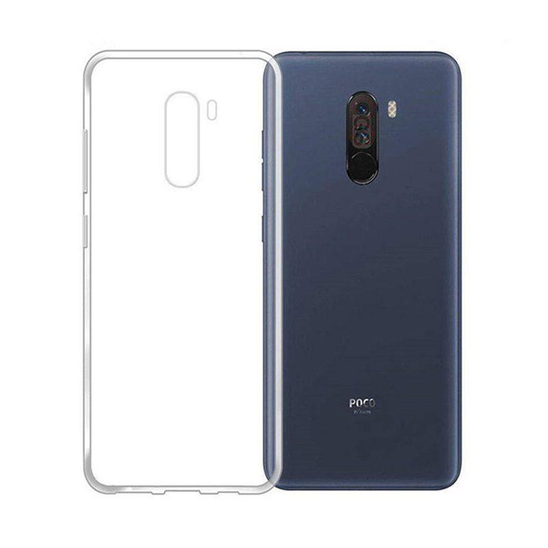 Xiaomi Pocophone F1 silikónový kryt Clear Case 1