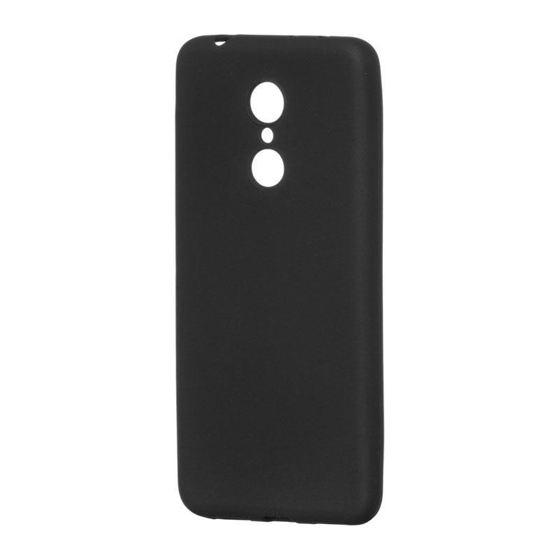 Silikónový kryt na Xiaomi Redmi 5 Plus čierny