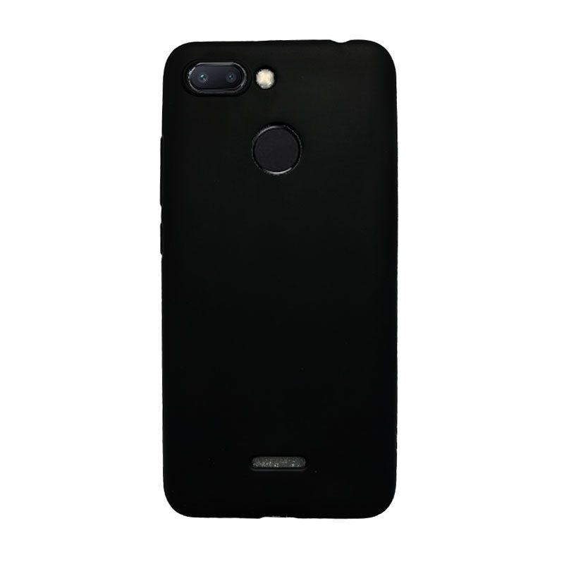 Silikónový kryt na Xiaomi Redmi 6 čierny