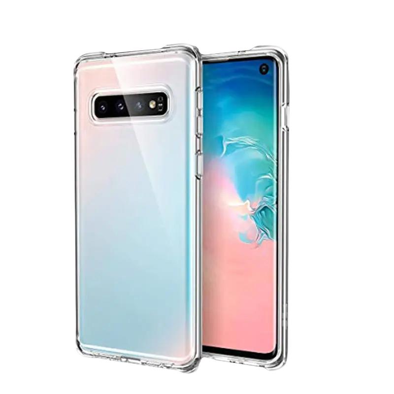 Silikónový kryt s vystúženými hranami na Samsung Galaxy S10 Clear Case