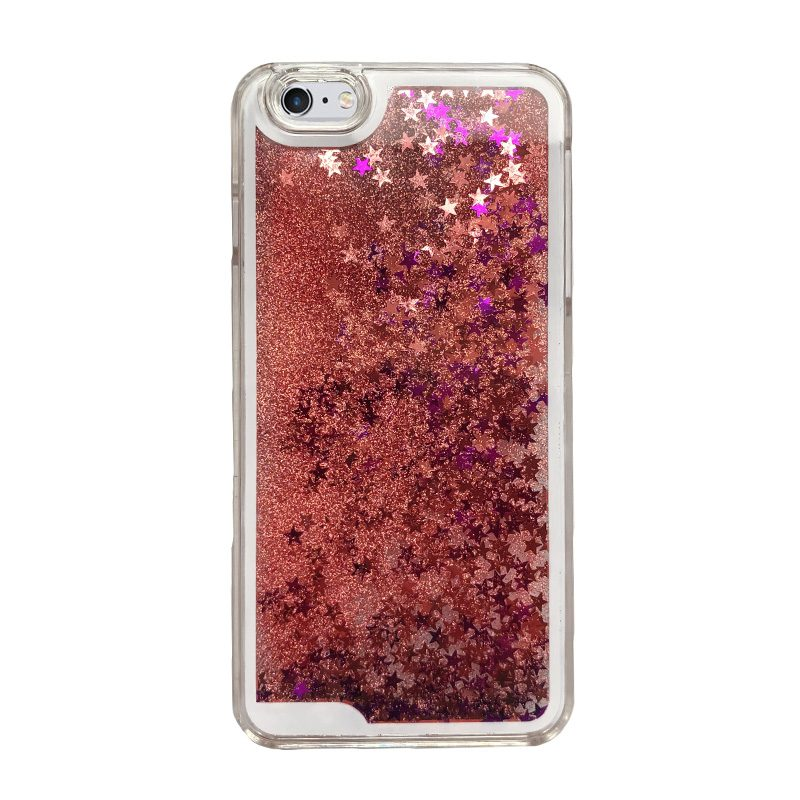 Plastový kryt na iPhone 6/6S Plus presýpací Liquid Stars