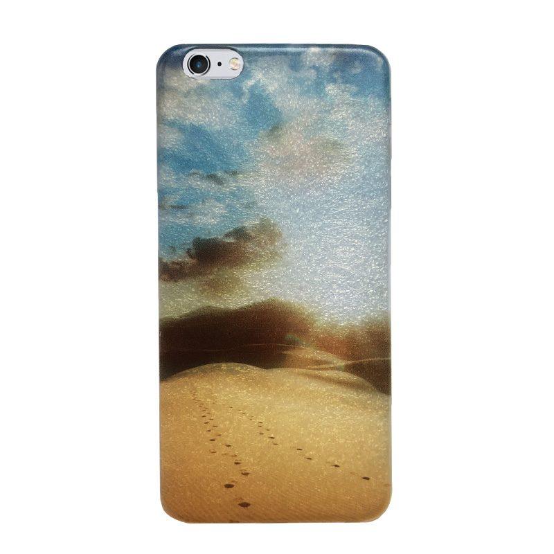 Silikónový kryt na iPhone 6 Plus/6S Plus Desert