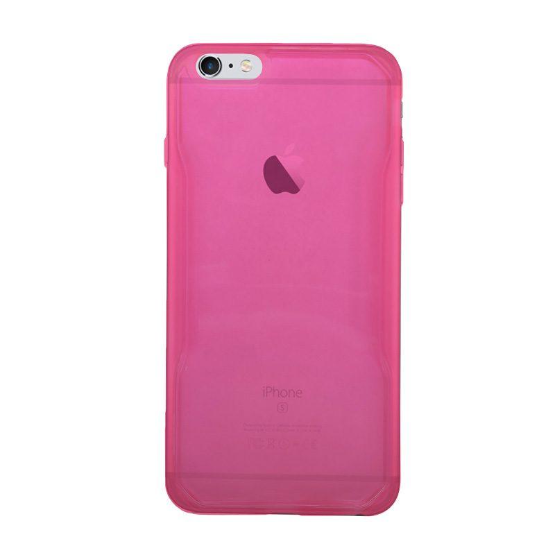 Silikónový kryt na iPhone 6 Plus/6S Plus Neon Pink