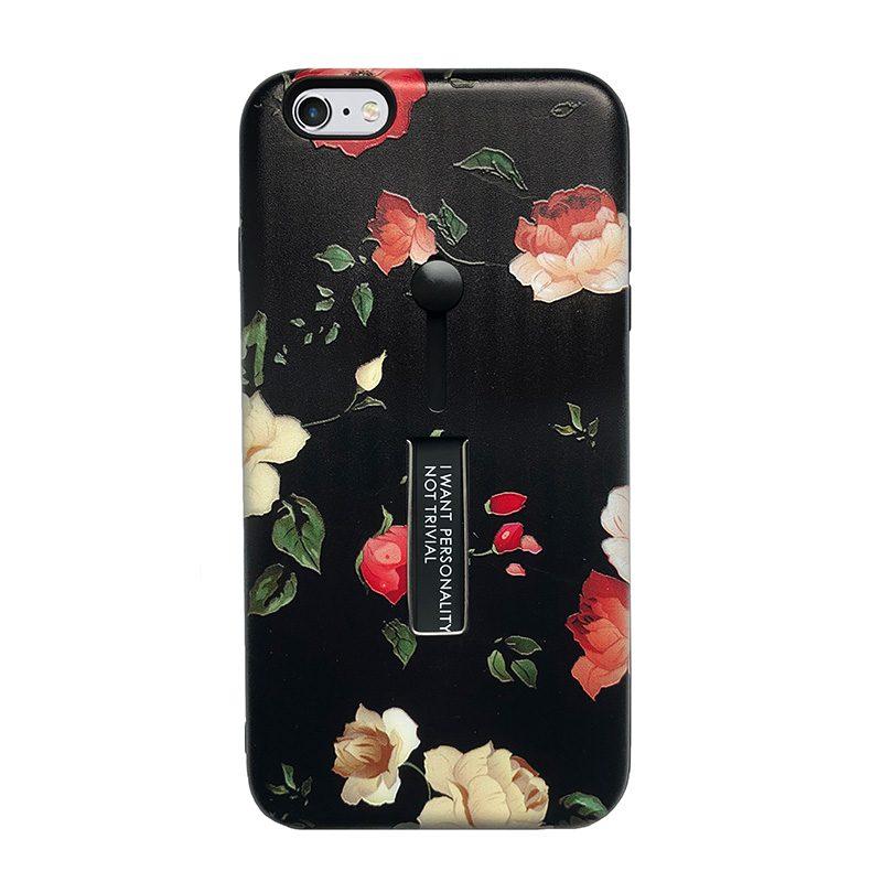 Silikónový kryt na iPhone 6 Plus/6S Plus Roses Trivial