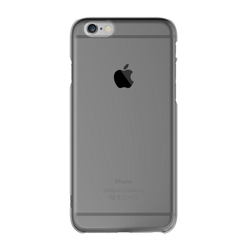 Apple iPhone 6 Plus/6S Plus silikónový kryt Clear Black 1