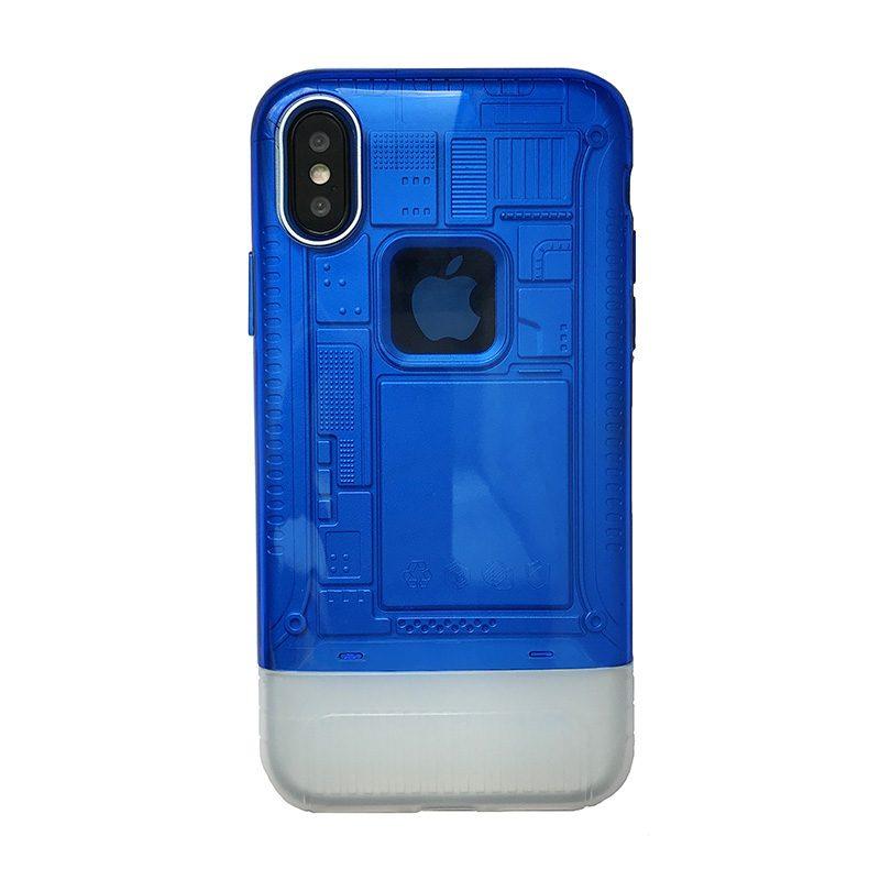 Apple iPhone X/XS armor plastový kryt Blue 1