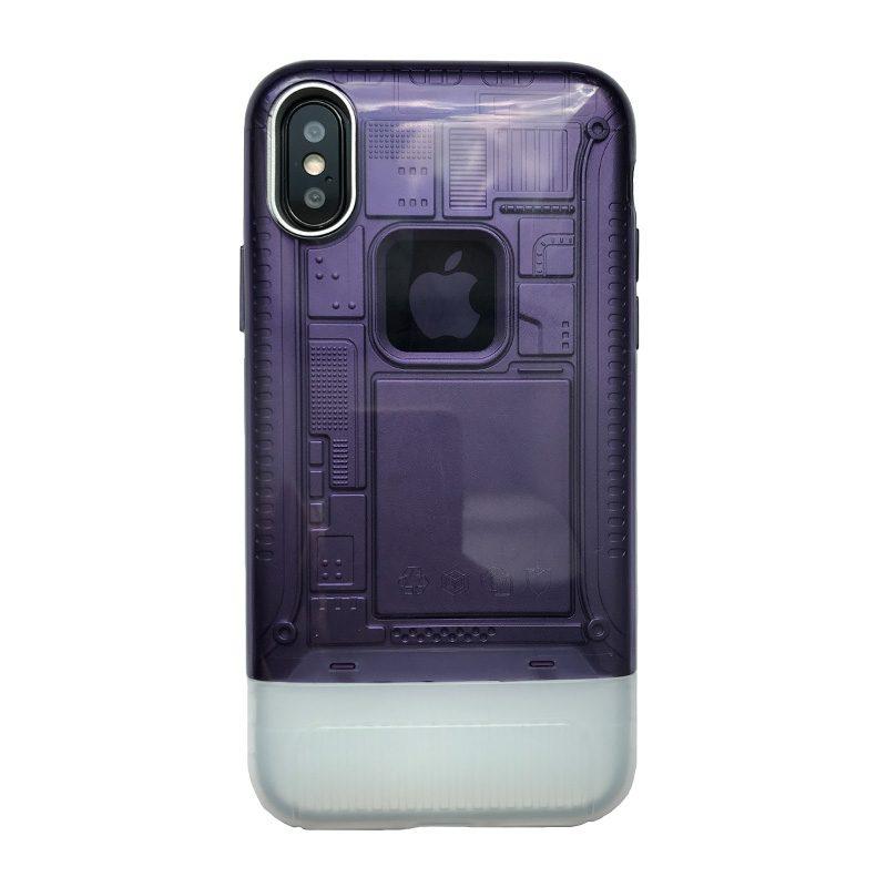 Plastový kryt na iPhone X/XS armor Purple