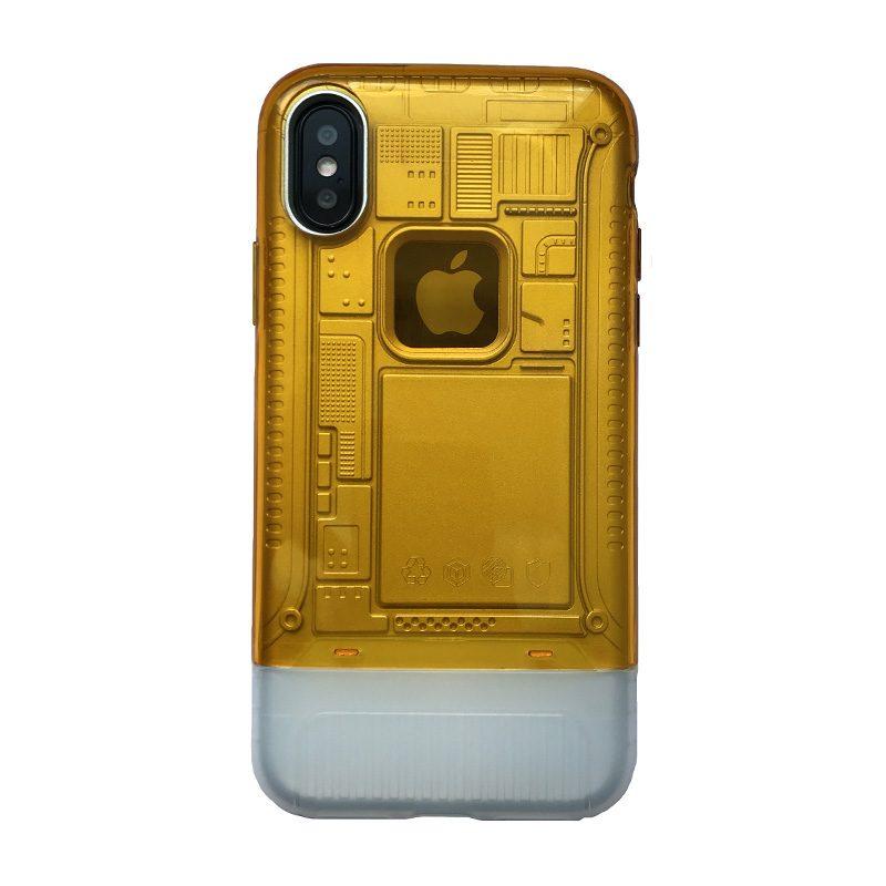 Plastový kryt na iPhone X/XS armor Yellow
