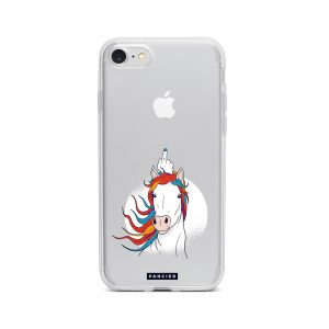 Unicorn Middle Finger iPhone 7/8