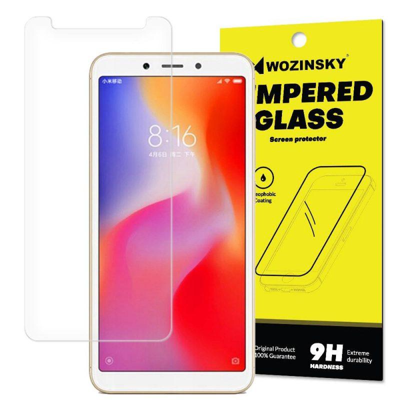 Ochranné temperované sklo 9H Xiaomi Redmi 6