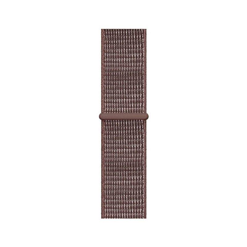 Remienok na Apple Watch 42mm/44mm látkový hnedý