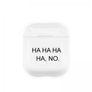 Apple AirPods plastový obal HA HA
