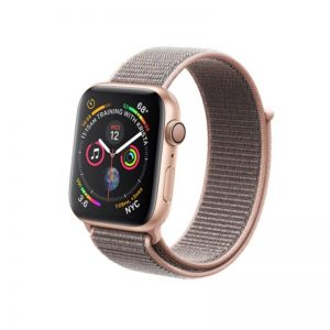 Apple Watch 38mm/40mm látkový remienok Pink Sand