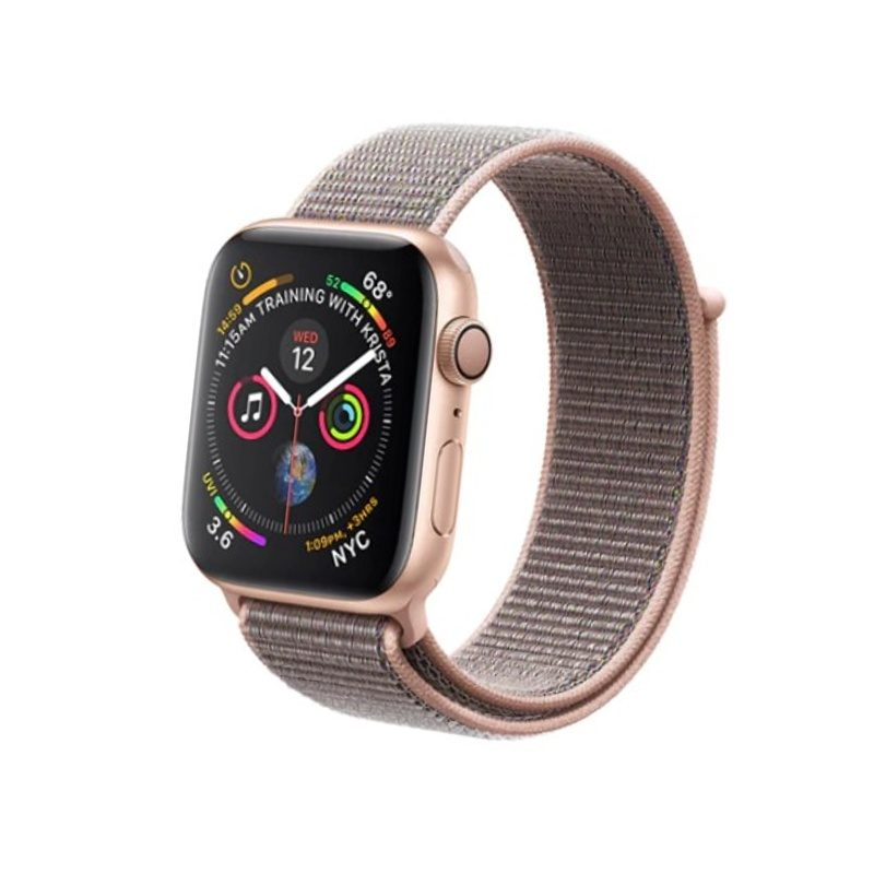 Apple Watch 38mm/40mm látkový remienok Pink Sand