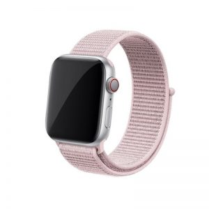Apple Watch 38mm/40mm látkový remienok Rose Powder