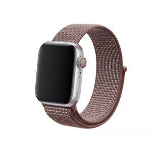 Apple Watch 42mm/44mm látkový remienok Brown
