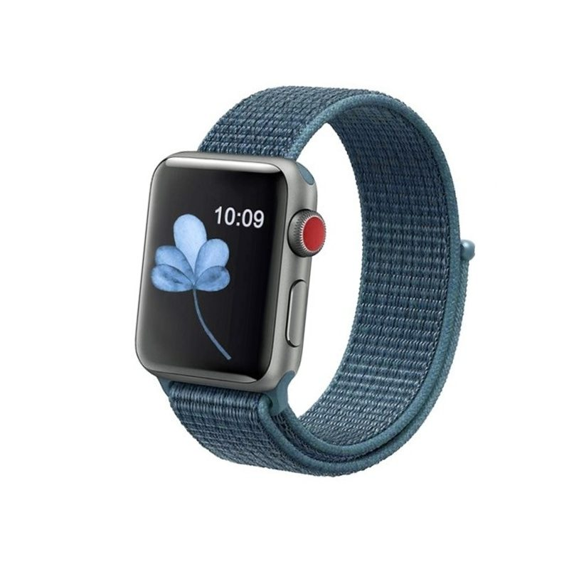 Apple Watch 42mm/44mm látkový remienok Cold Blue
