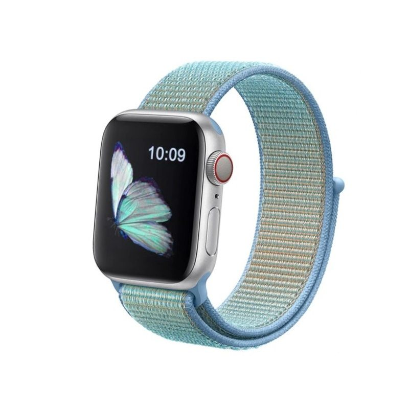 Apple Watch 42mm/44mm látkový remienok Cornflower
