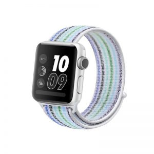Apple Watch 42mm44mm Nylon Light Blue Strip