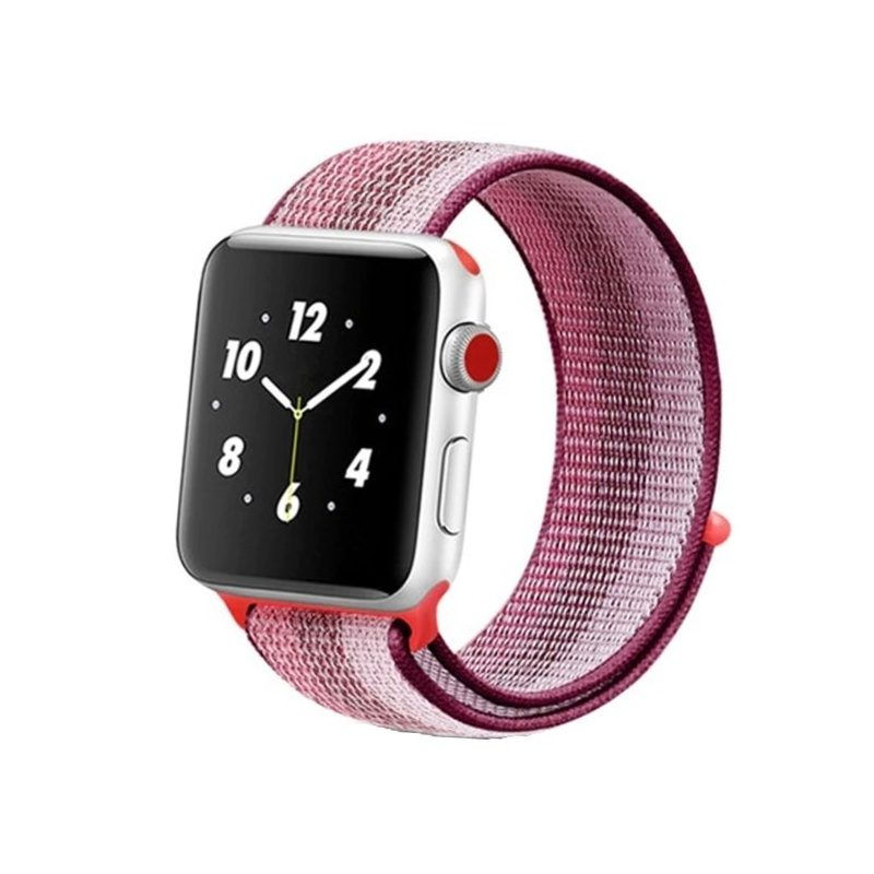 Apple Watch 42mm/44mm Nylon Light Pink Strip