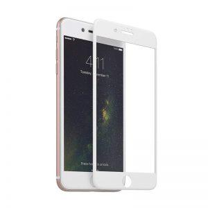 Apple iPhone 7/8 ochranné 3D sklo White