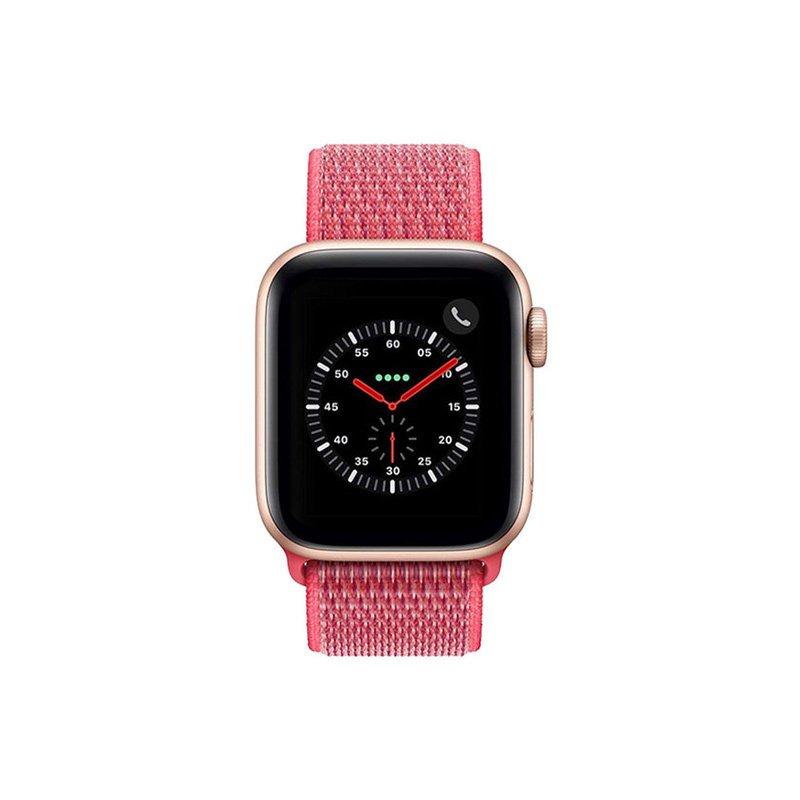 Remienok na Apple Watch 38mm/40mm látkový Hibiskus
