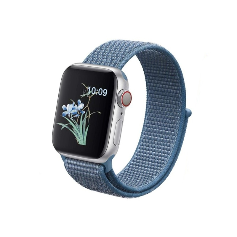Apple Watch 42mm/44mm látkový remienok Cold Blue
