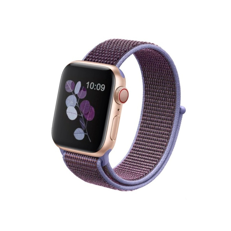 Apple Watch 38mm/42mm látkový remienok Lilac
