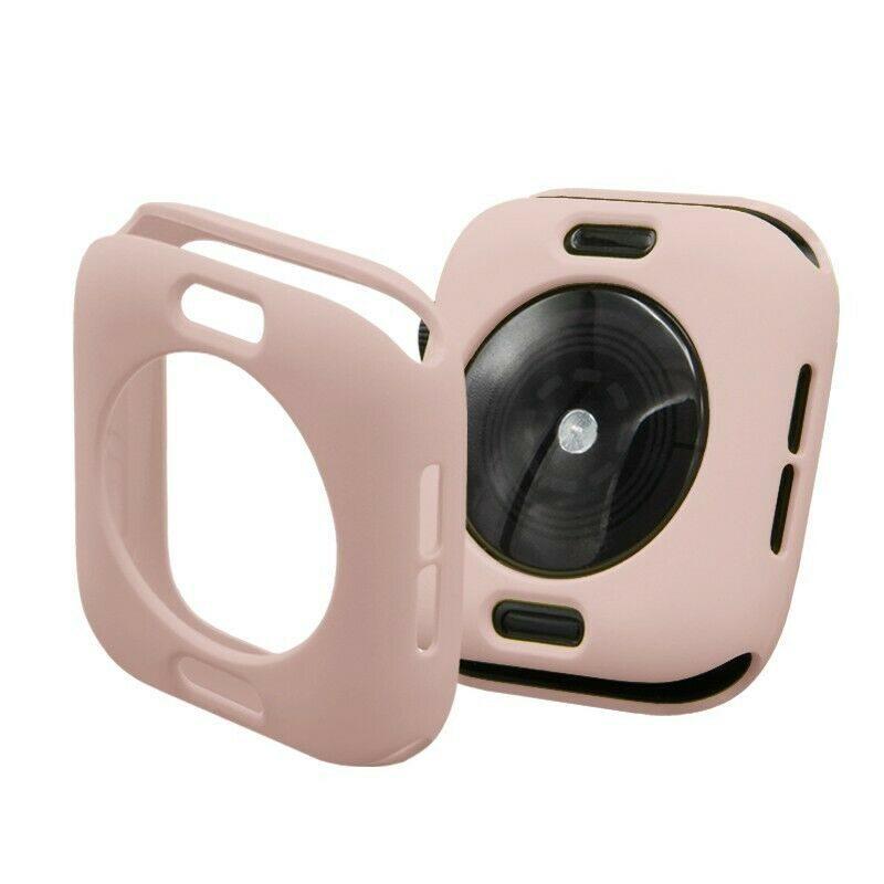 Apple Watch silikónový obal Pink
