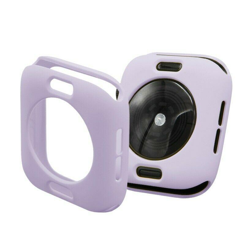 Apple Watch silikónový obal Purple 44mm