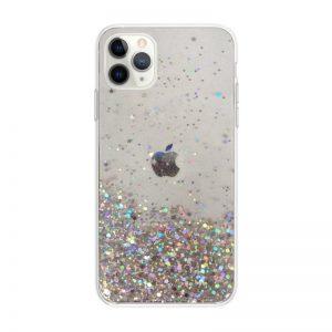 Apple iPhone 11 Pro Max silikónový kryt Clear Stars