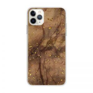 Apple iPhone 11 Pro Max silikónový kryt Gold Marble