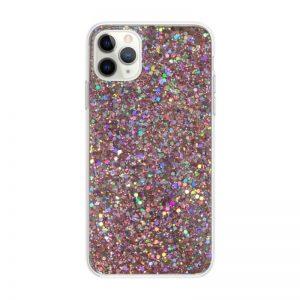 Apple iPhone 11 Pro Max silikónový kryt Pink Sparkling