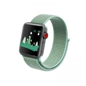 Apple Watch 42mm/44mm látkový remienok Marine Green