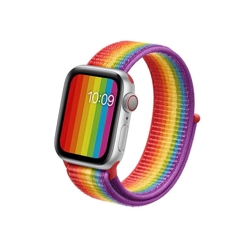 Apple Watch 42mm/44mm látkový remienok Pride