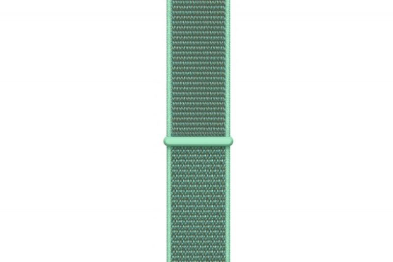 Remienok na Apple Watch 42mm/44mm látkový Marine Green