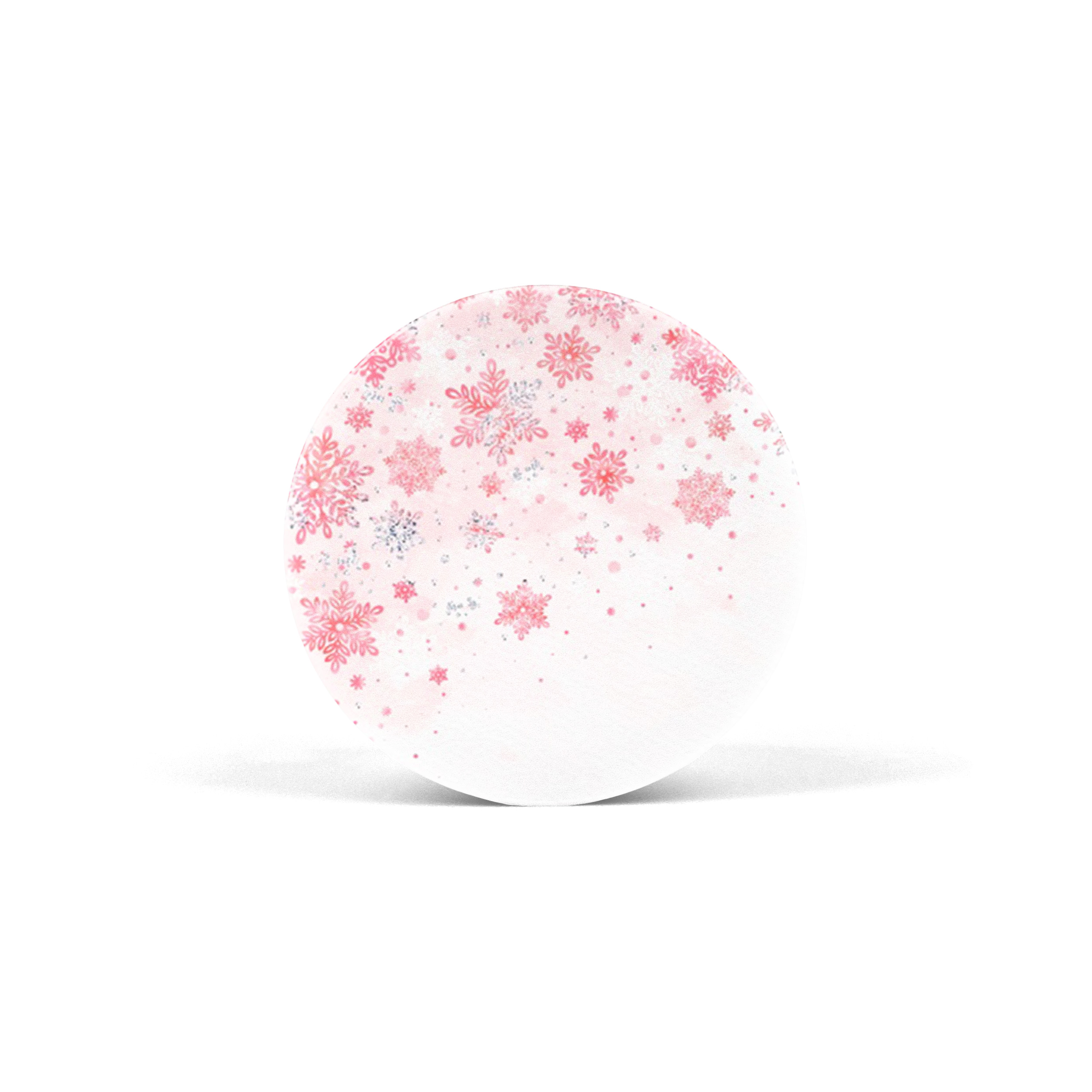 PopSocket Pink Snowflake