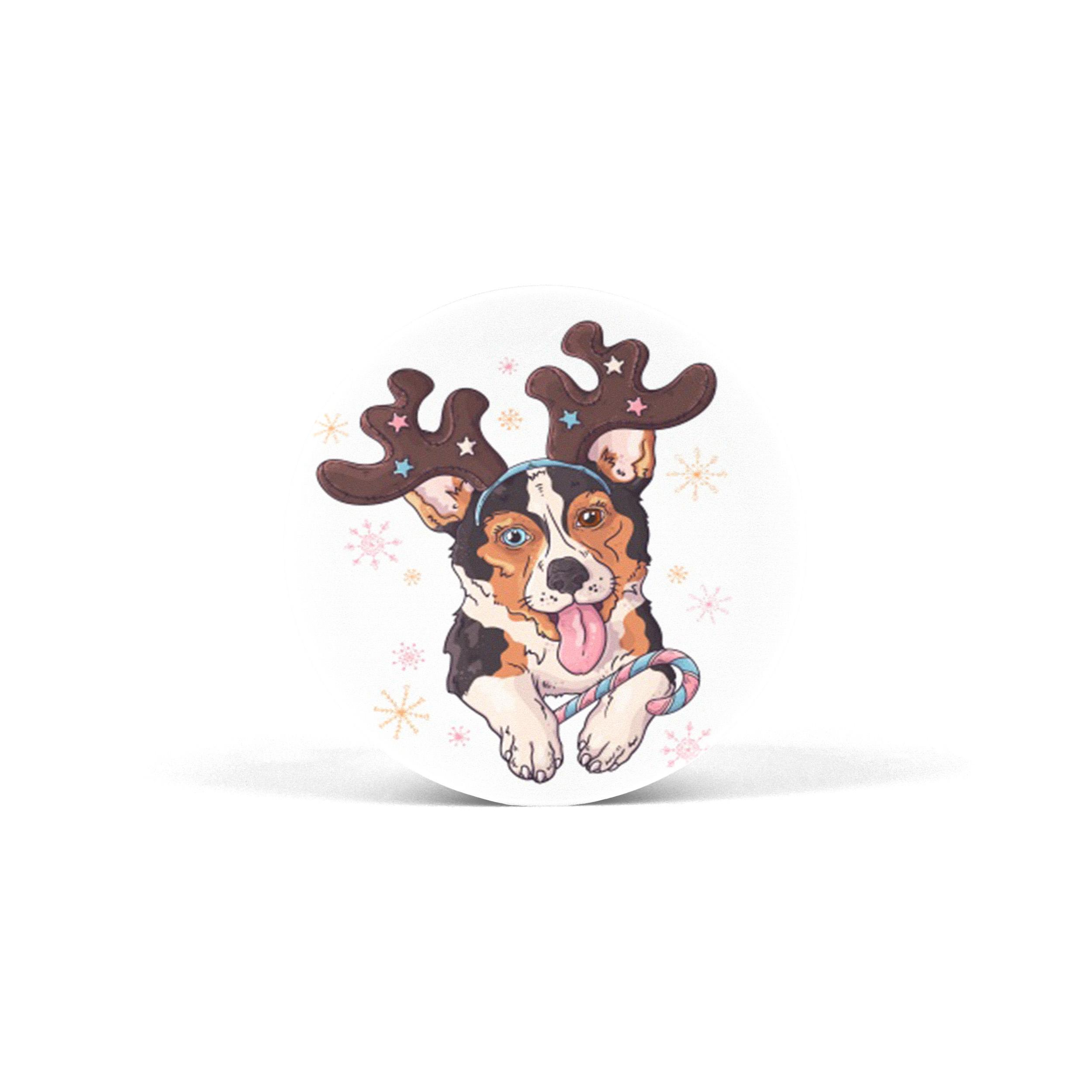 PopSocket Winter Dog